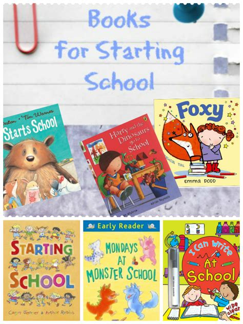 picture books about starting school books about starting school in the playroom