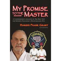 libro the promise libro my promise to the master nagamine frank grant ingl 233 s kamikaze karategi online shop