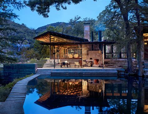 Lake Flato Designs Hill Country House That's All About the