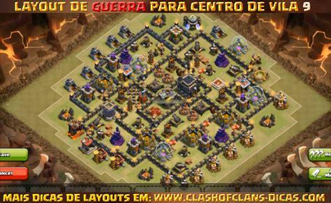 layout cv guerra 9 layouts para cv9 em guerra clash of clans dicas