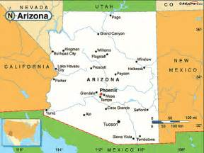 map of arizona cities and towns map of arizona cities maps