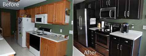 stain kitchen cabinets before and after kitchen before and after gel staining of cabinets