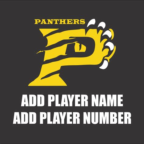 Window Decals Numbers by Belleview Panther Window Decals Choice Awards Apparel