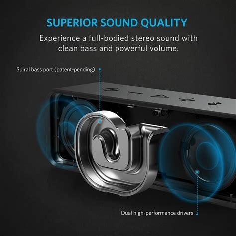 anker quality review of anker soundcore bluetooth rechargeable speaker