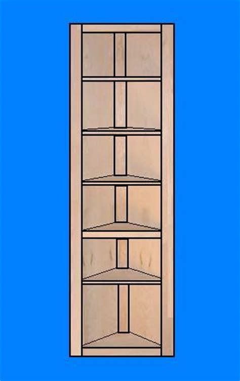 Corner Shelf Unit Plans how to build a corner shelf unit plans diy free