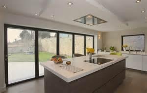 Creative Kitchen Island bi fold door installers in kendal cumbria amp the lake district