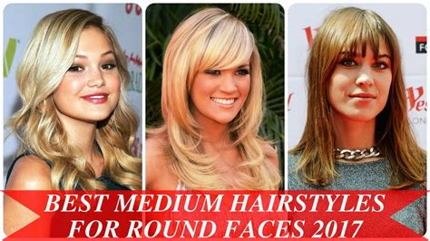 Hairstyles For Faces 2017 by Best Medium Hairstyles For Faces 2017