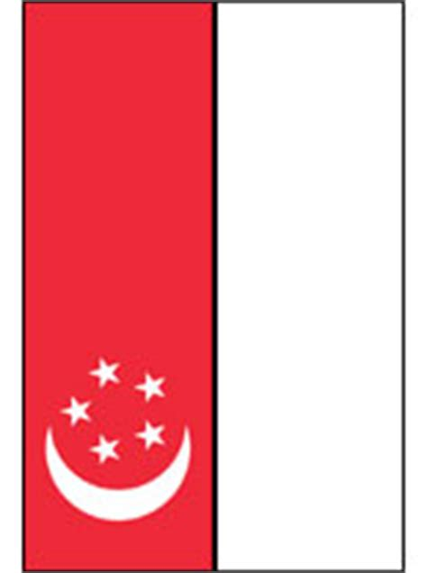 singapore flag coloring page coloring pages