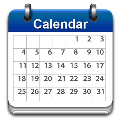 Calendar Pictures Top Calendar Icon Png Blue Vector File Free 187 Free Vector