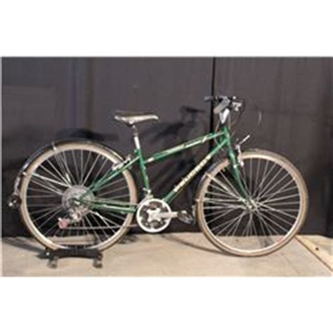 peugeot hybrid bike green peugeot evasion 21 speed hybrid bike able auctions