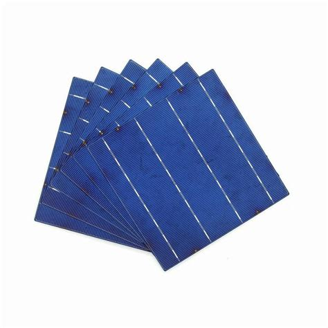 Solar Cell Monocrystalline 156 X 156mm Kit 3 Busbar Solar Panels Best 20 pcs 4w a grade 156mm photovoltaic polycrystalline solar cell 6x6 for pv solar panel