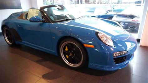 porsche speedster blue 2011 porsche speedster blue 171 of 356 now available