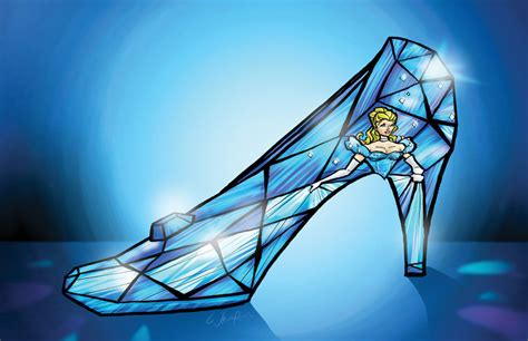 new cinderella glass slipper cinderella s glass slipper by cthompsonart on deviantart
