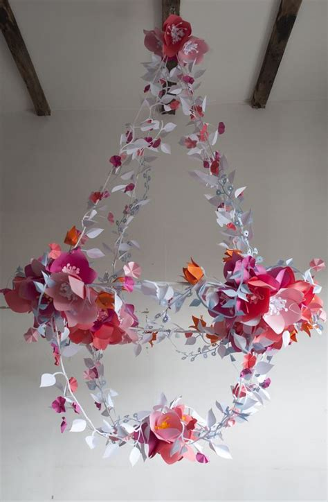 paper chandelier decoration decorative chandeliers for every wedding theme beautiful