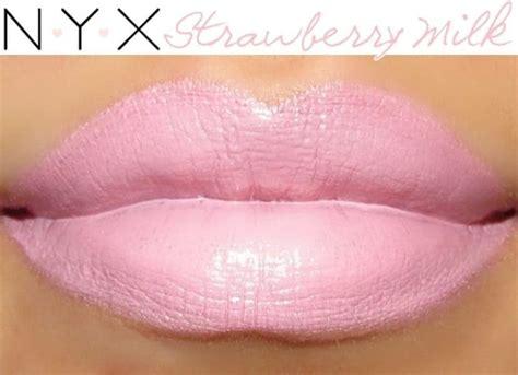 MAC Viva Glam Gaga Dupes Nyx Strawberry Milk Lipstick