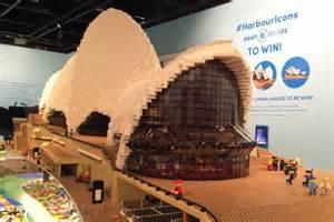 sydney opera house lego sydney harbour s iconic structures recreated using