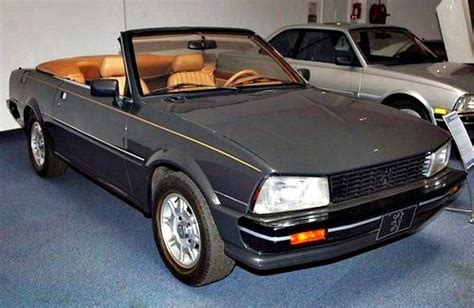 peugeot 505 coupe peugeot 505 cabriolet such a pretty car french classic