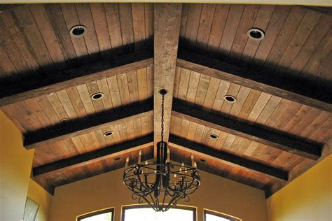 real wood box beams