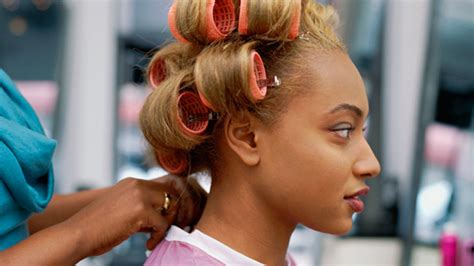 it s a roller set on relaxed hair but i don t care it s get your most perfect roller set