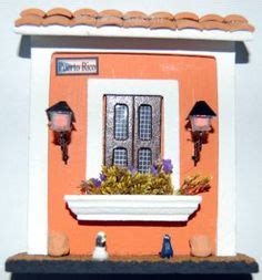 home decor puerto rico instant collection three wooden house of old san juan