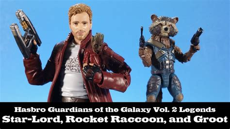 Original Hasbro Guardians Of Galaxy Vol 2 Lord Mix marvel legends guardians of the galaxy vol 2 lord and rocket with groot hasbro
