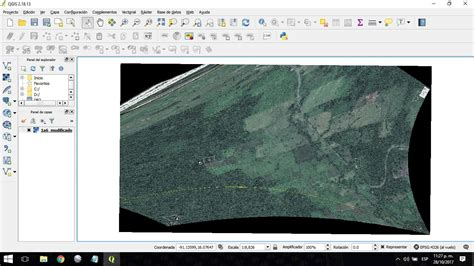 qgis tutorial google earth google earth distorted image of kml in qgis geographic