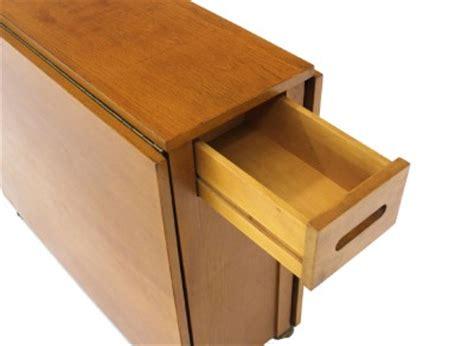 mid century modern dining folding table w folding