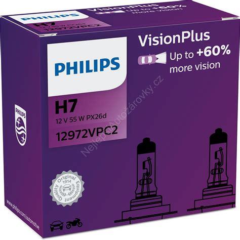 Vision Plus Philips Visionplus 12972vpc2 H7 Px26d 12v 55w