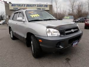 Used 2005 Hyundai Santa Fe 2005 Hyundai Santa Fe 1 Owner Low Kloms