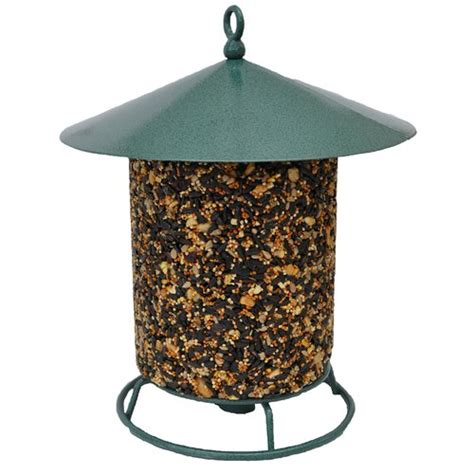 Cylinder Bird Feeder Pine Tree Farms Cylinder Seed Cake Bird Feeder