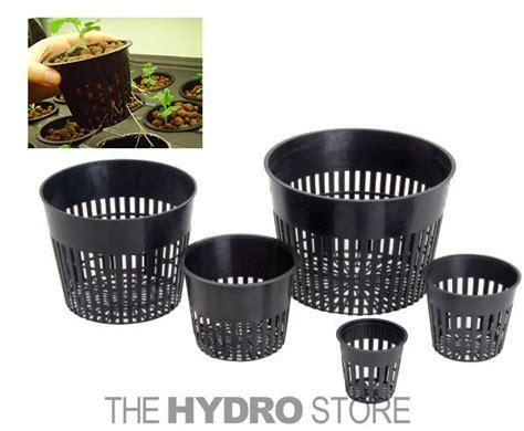 Net Pot 10cm Net Pot net pot mesh flex pot net cup aeroponic grow basket hydroponic seed cloning ebay