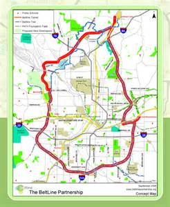 Atlanta Beltline Map by Walking 19 Miles Of The Atlanta Beltline The City Dweller