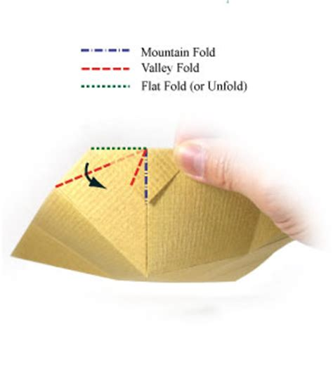How To Fold A Paper Bowl - how to make a simple origami bowl page 6