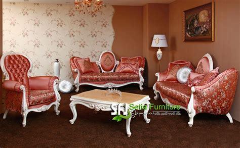 Cermin Rotan Sintetis sofa tamu ukir modern setia furniture jepara