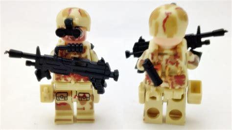Lego Lele Technology diy 레고 밀리터리 군인 csf 야간사격수 미니피규어 조립기 lego custom