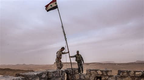syrian desert syrian army liberates large areas in central syria