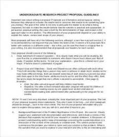 Writing A Prospectus For A Research Paper Example Of A Research Paper Prospectus