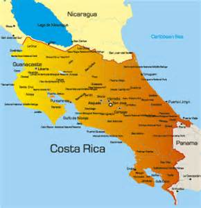 costa rica on map of south america costa rica accommodation holidays beautiful america