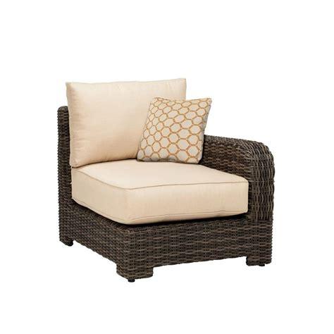 Brown Jordan Northshore Right Arm Patio Sectional Chair Custom Patio Chair Cushions