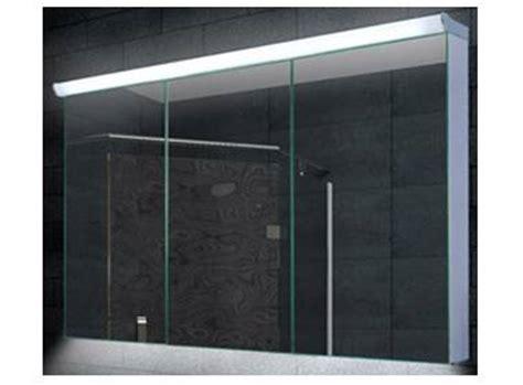 spiegelschrank led breite 160 cm dreit 252 rig