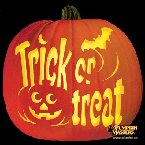 trick or treat pumpkin template 45 best master carving images on pumpkin