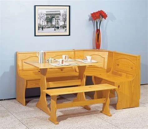 corner bench dining set with storage corner dining set kitchen breakfast nook and 50 similar items