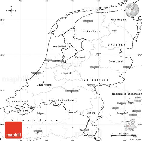 netherlands map outline image gallery netherlands map outline