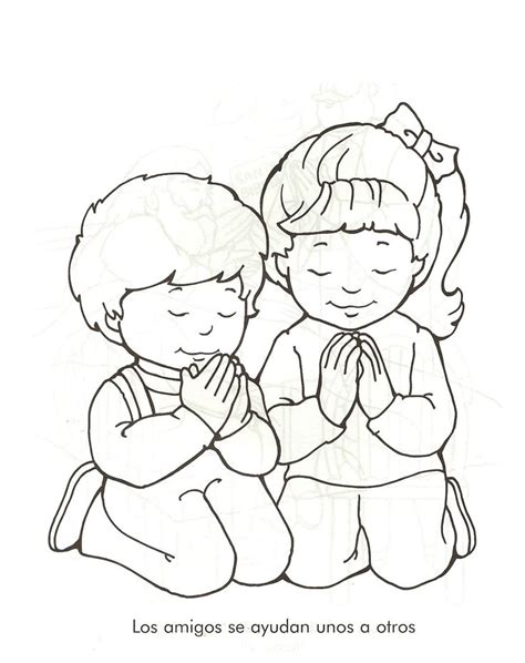 dibujos para colorear de ninos orando free download dibujos de personas orando para colorear