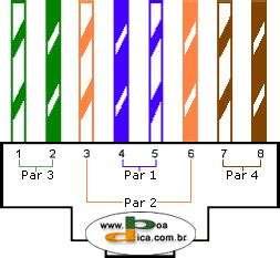 boadica dicas diagrama de cabos de rede