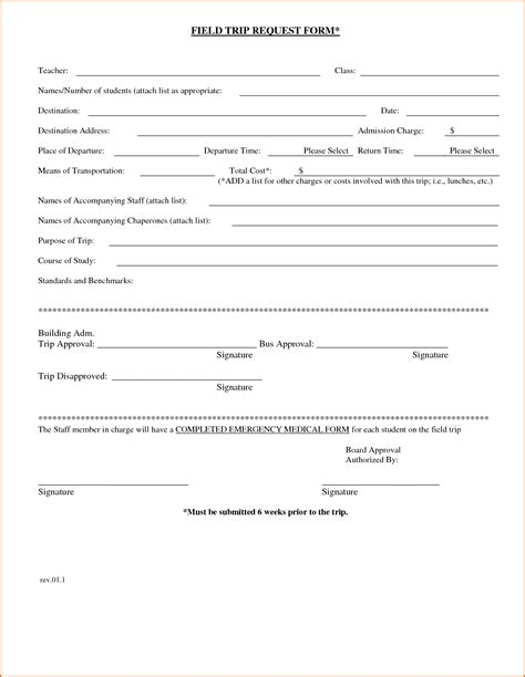 field trip form template pin waiver forms field trip doc on