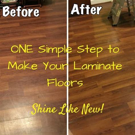 Laminate Floors   Make Them Shine Again   Honeysuckle