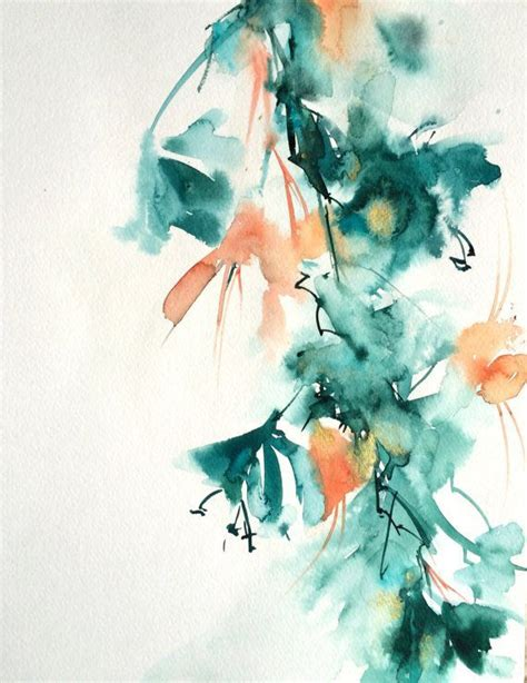watercolour flower portraits 1782210822 best 20 abstract watercolor ideas on