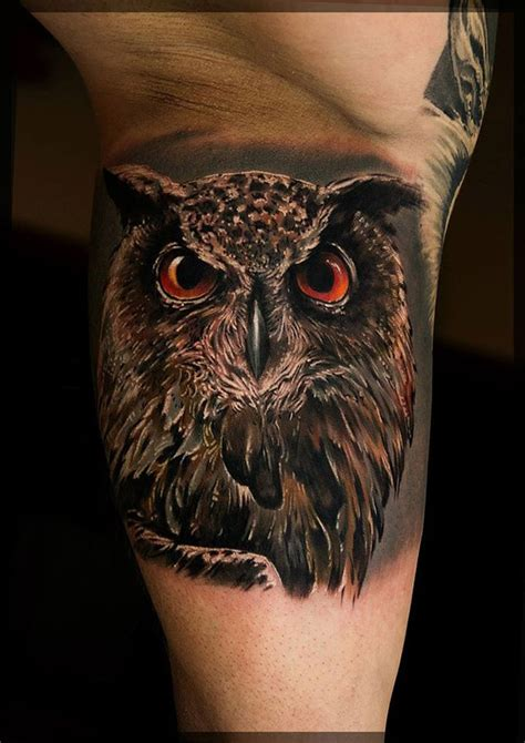 beautiful owl tattoo designs   meaning   nocturnal animal