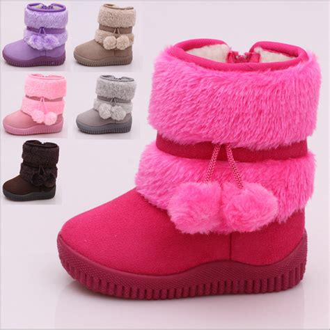 winter shoes for baby warm baby kid toddler infant winter snow boots fur